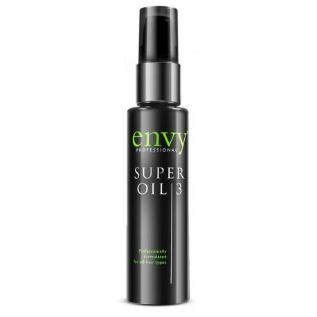 Envy Super Oil 3 Питательное масло по уходу за волосами, 75 мл.