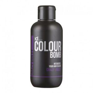 Id Hair Colour Bomb Crazy Violet Тонирующий Бальзам Безумный Фиолетовый, 250 мл