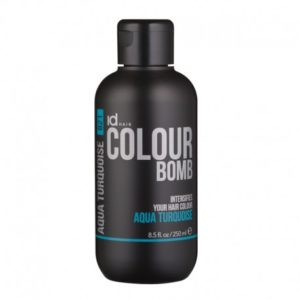Id Hair Colour Bomb Aqua Turquoise Тонирующий бальзам Бирюзовый, 250 мл.