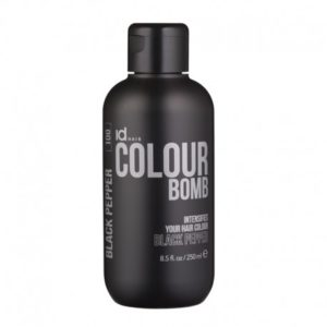 Id Hair Colour Bomb Black Pepper Тонирующий бальзам Черный Перец, 250 мл.
