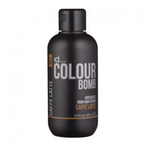 Id Hair Colour Bomb Caffe Latte Тонирующий бальзам Кофе Латте, 250 мл.