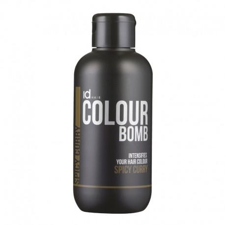 Id Hair Colour Bomb Spicy Curry Тонирующий Бальзам Острый Карри, 250 мл.