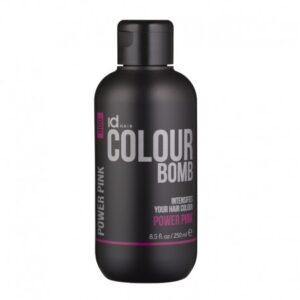 Id Hair Colour Bomb Power Pink Тонирующий бальзам Розовый, 250 мл.