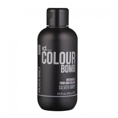 Id Hair Colour Bomb Silver Grey Тонирующий бальзам Серебрянный Серый, 250 мл.