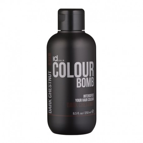 Id Hair Colour Bomb Dark Chestnut Тонирующий Бальзам Темный (Теплый) Каштан, 250 мл.
