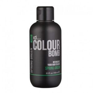 Іd Hair Colour Bomb Spring Green Тонирующий бальзам Зеленый , 250 мл.
