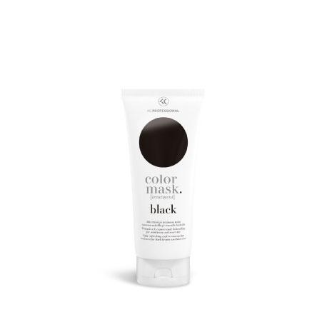 KC Color Mask Color Refreshing Treatment Black - Тонирующая Маска для Волос, Черный, 200 мл
