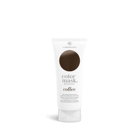 KC Color Mask Color Refreshing Treatment Coffee - Тонирующая Маска для Волос, Темно-коричневый, 200 мл