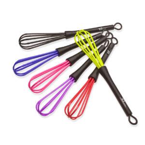 IdHair Color Mixer Цветные Венчики для Смешивания Краски (набор), 6 шт