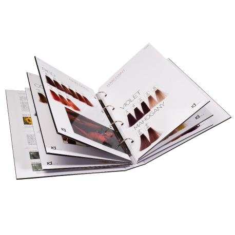 IdHair HP Colour Chart книга Фарб-карта красителей IdHair