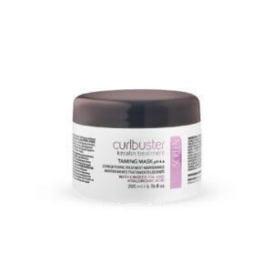 Screen Curlbuster Keratin Treatment Taming Mask - Маска для выпрямления Волос с кератином, 200 мл.