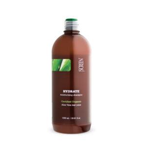 Screen Hydrate Moisturizing Shampoo - Увлажняющий Шампунь с Соком Алоэ Вера, 1000 мл.