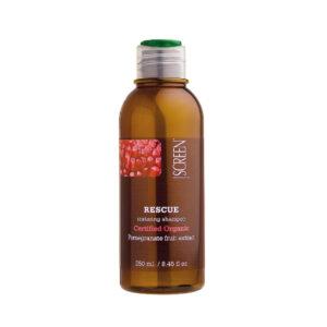 Screen Rescue Restoring Shampoo - Шампунь для Восстановления Волос с Экстрактом Граната, 250 мл.