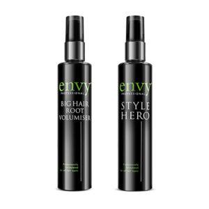 Набор для увеличения объема волос и стайлинга Envy Volumising Duo (Style Hero и Big Hair Root Volumiser)