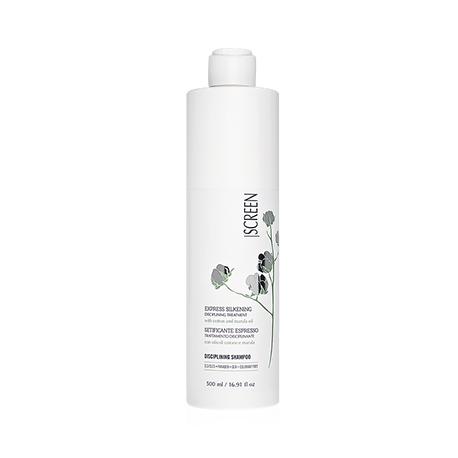 Screen Express Silkening Treatment Disciplinig Shampoo - Шампунь дисциплинирующий для экспресс ошелкования волос, 500 мл.
